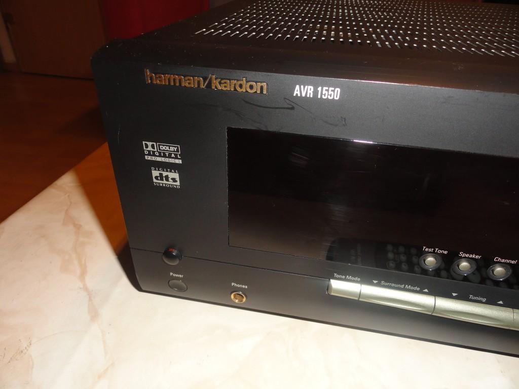 harman kardon avr 1550 5 1 receiver muy bien cuidadas 2 a os de garant a ebay. Black Bedroom Furniture Sets. Home Design Ideas