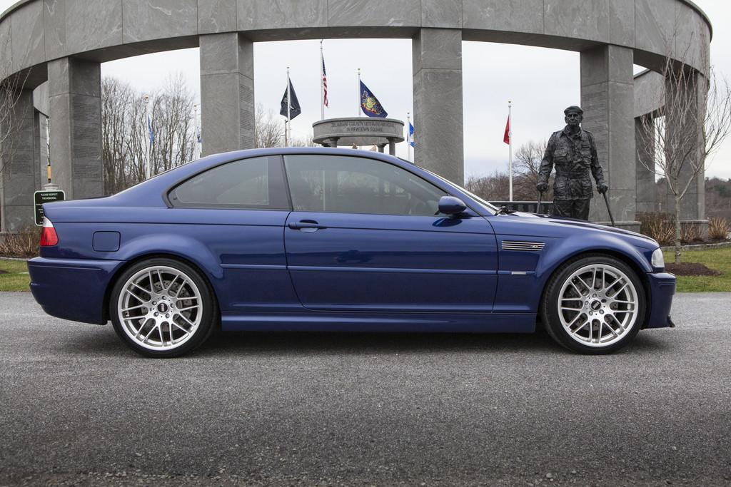 E46 2006 BMW M3 Competition Package Interlagos BlueBlack 59k
