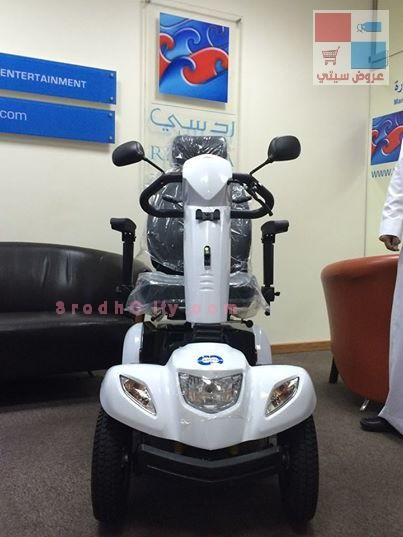 بادرة جميلة من الردسي مول بجدة عربات كهربائية لكبار السن للتسوق بكل راحة LkFn3R.jpg