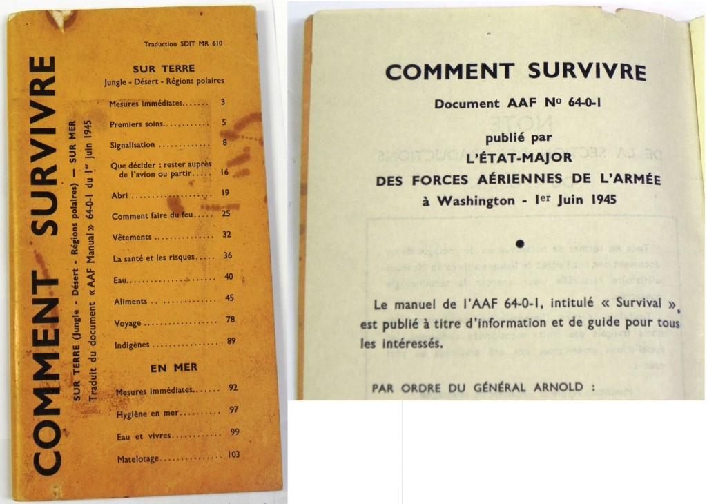 Guide comment survivre sur terre en mer 1953 ebay for Survitrer une fenetre