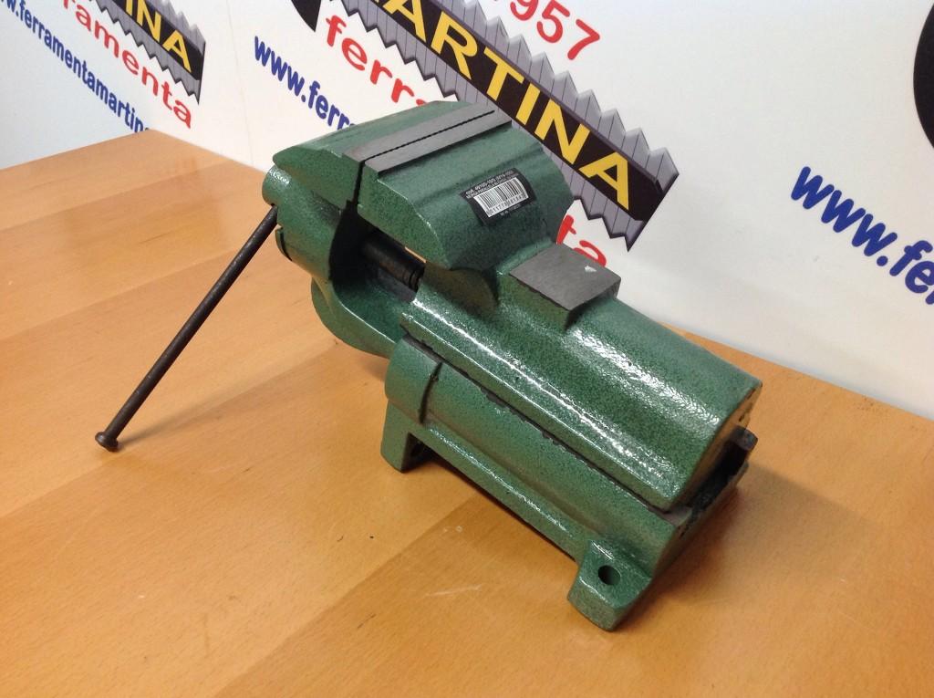 Morsa parallela da banco in ghisa blinky modello italia mm 125 for Morsa da banco idraulica