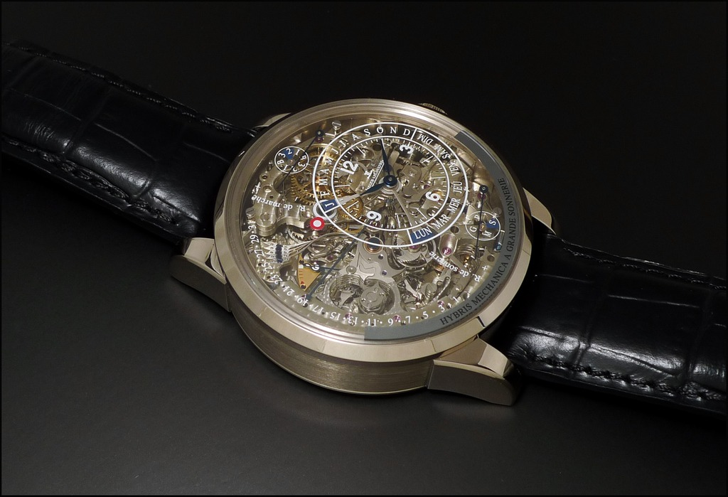 The jaeger lecoultre duometre grande sonnerie 2014 hybris artistica collection watch freeks for Grande sonnerie