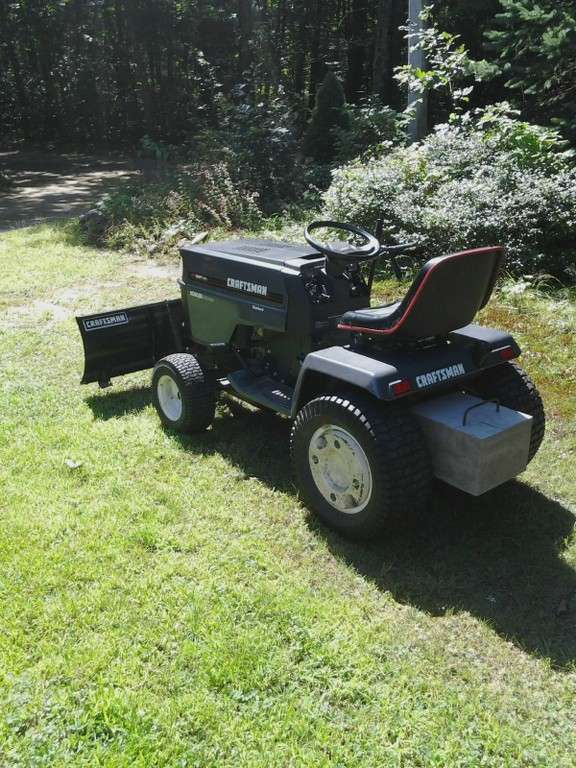 Craftsman Gt6000 Attachments : Mytractorforum the friendliest tractor forum and