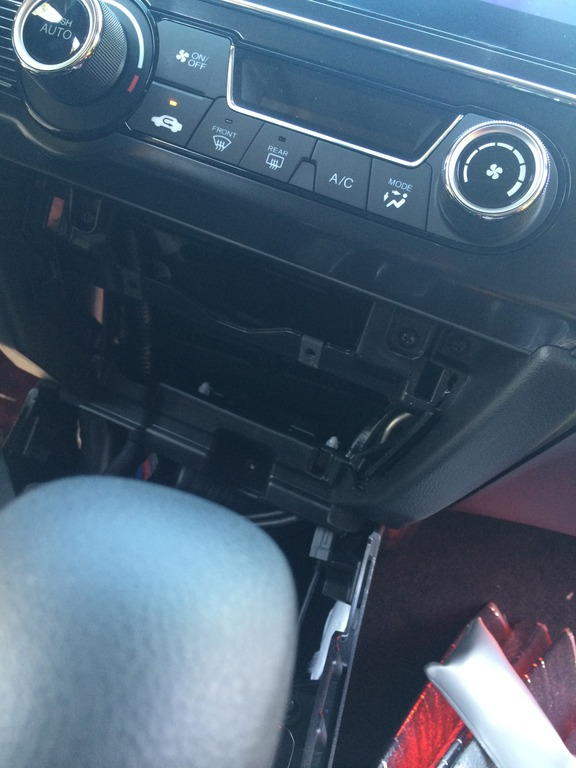 DIY 2014 EX Stock Stereo Removal