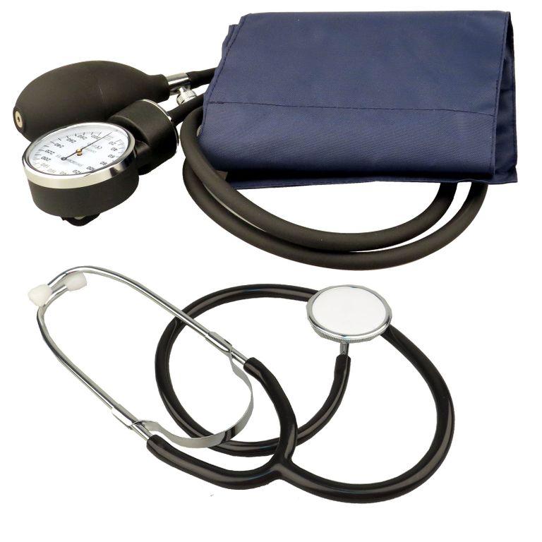 Sfigmomanometro analogico kit stetoscopio misuratore - Kit misuratore di pressione e portata idranti prezzo ...