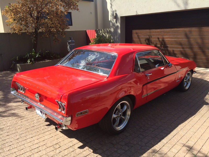SOLD* 1968 Ford Mustang Coupe - African Muscle Cars - Forum