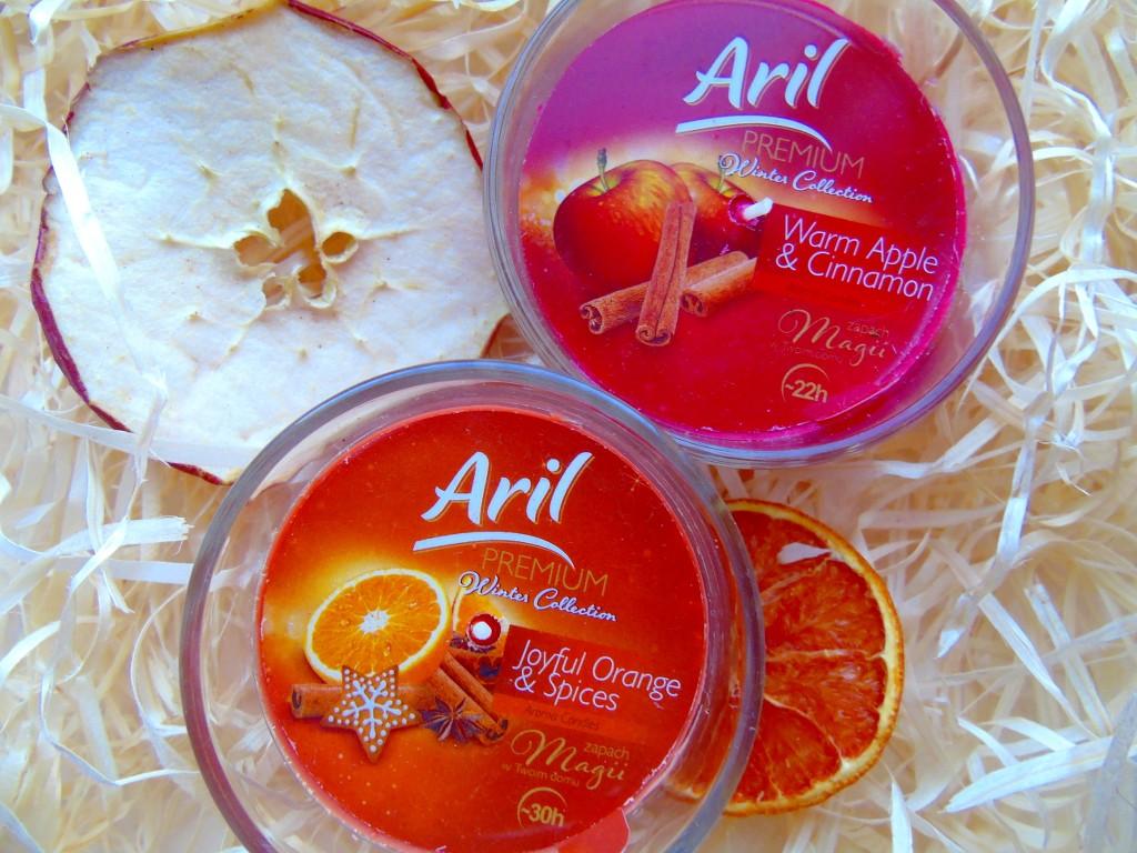 aril świeczki zapachowe z Biedronki