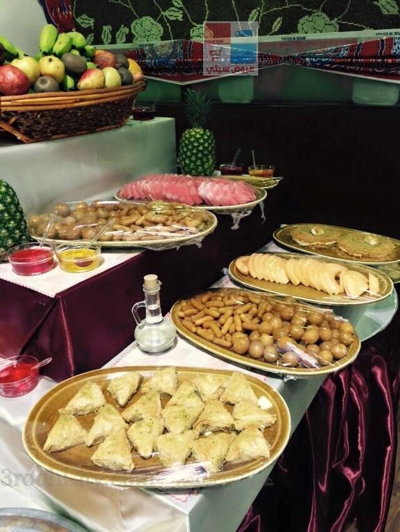 تقرير مصور بوفية افطار رمضان لدى مطعم ريف البلدة ikHSEt.jpg