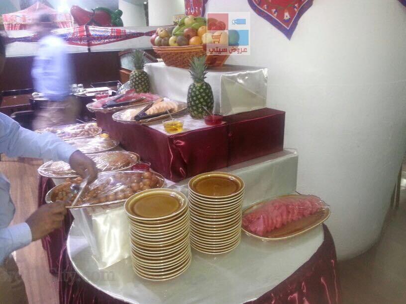 تقرير مصور بوفية افطار رمضان لدى مطعم ريف البلدة fGslJ6.jpg