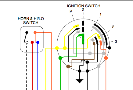 uTsVY0 cev ignition switch, need help black wire from switch series 1 lambretta tv1 wiring diagram at crackthecode.co