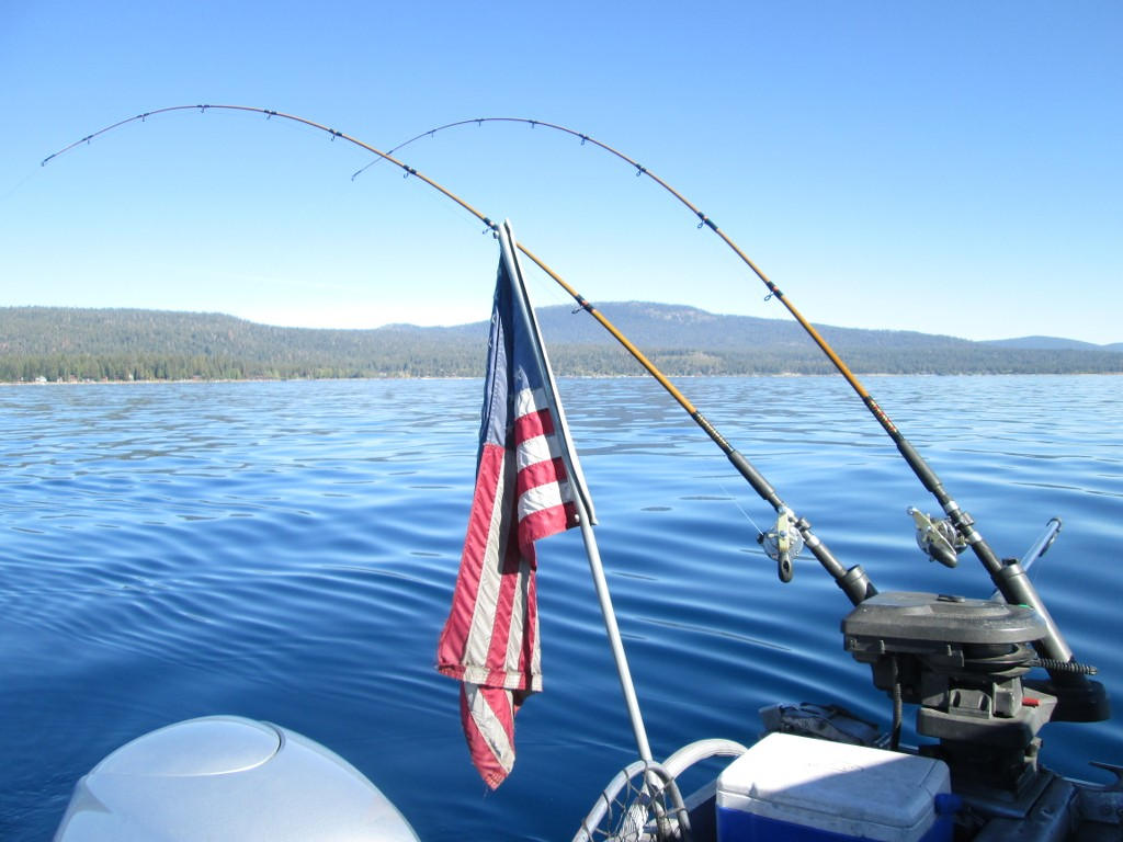 9 28 2016 lake tahoe mackinaw pictures report for Mackinaw city fishing charters