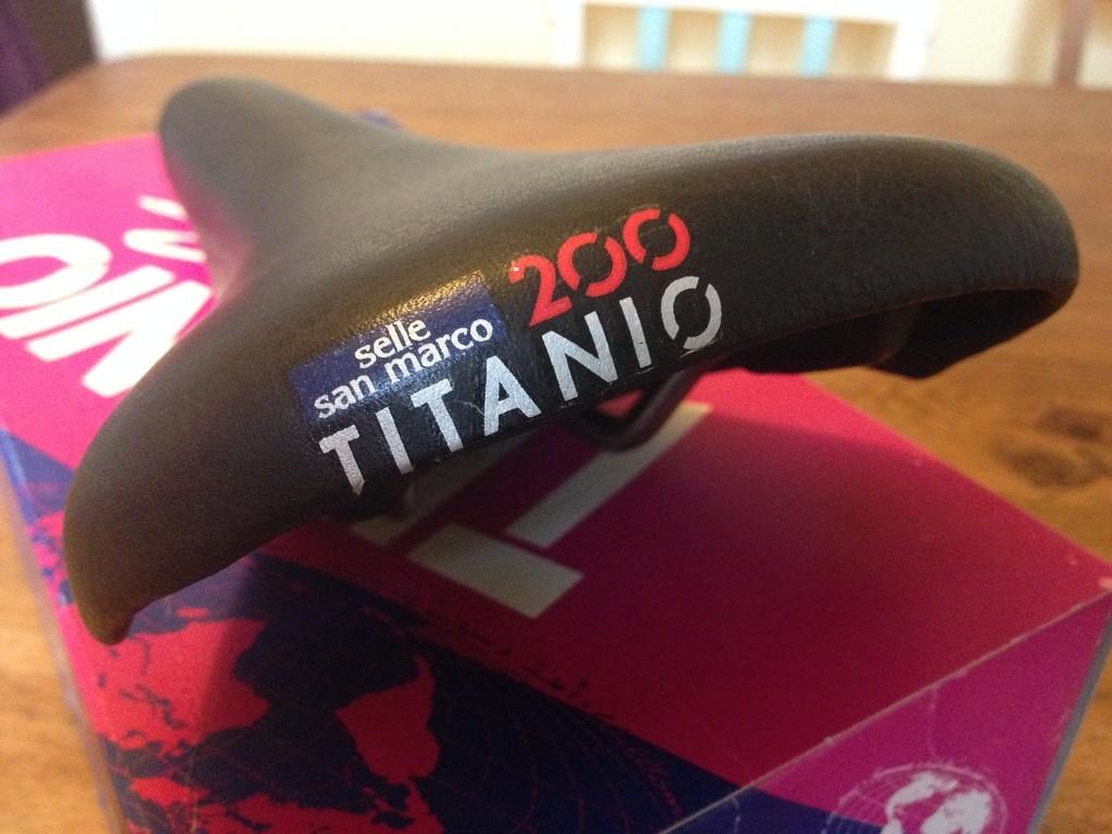 NOS Selle San Marco Titanio 200 saddle £80 *SOLD* | Retrobike