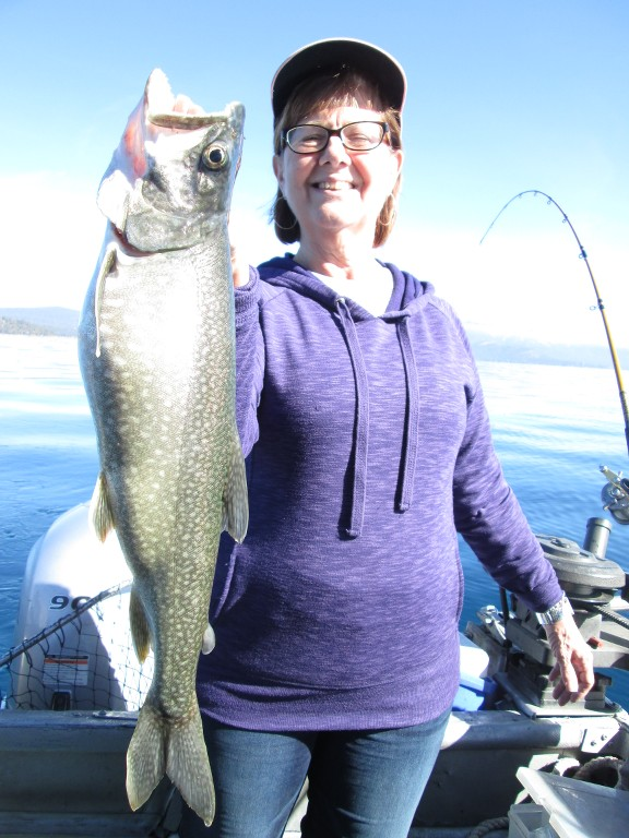 November 3 2016 tahoe mackinaw fishing report pictures for Mackinaw city fishing charters