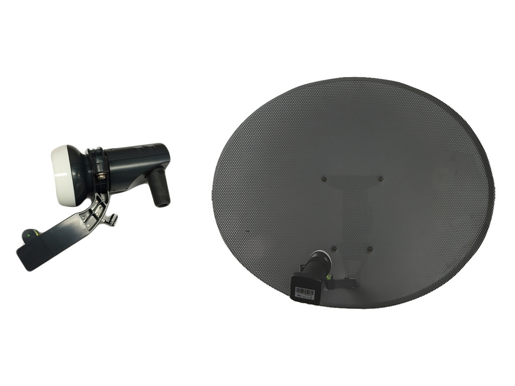 how to change the lnb on a sky dish