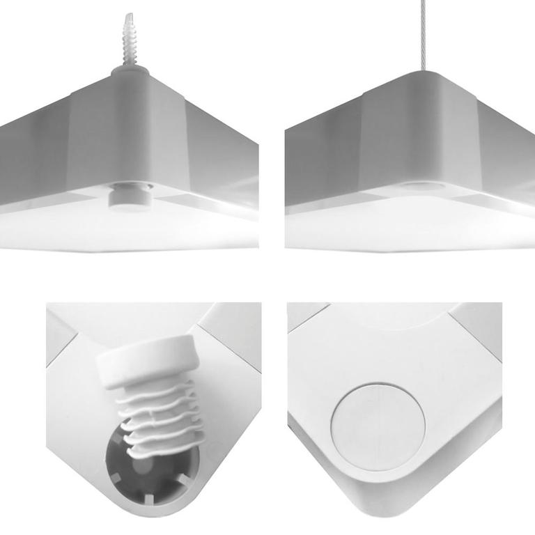 wannenleuchte 38w led leuchte garage werkstatt keller b roleuchte lampe 112x16cm. Black Bedroom Furniture Sets. Home Design Ideas