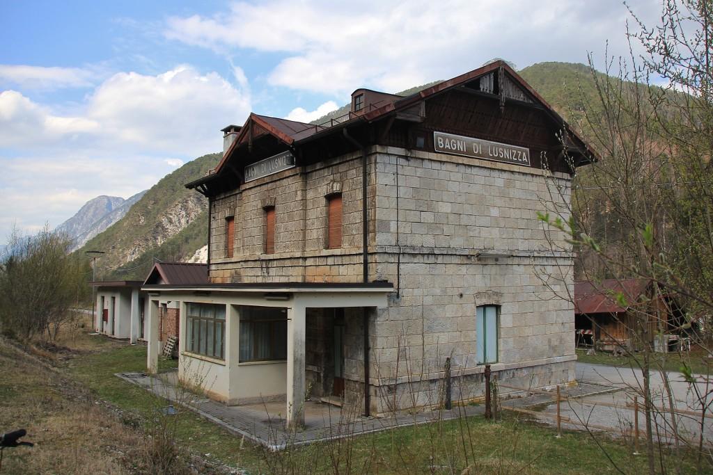 It per fahrrad unterwegs auf der alten pontebbana - Bagni di lusnizza ...