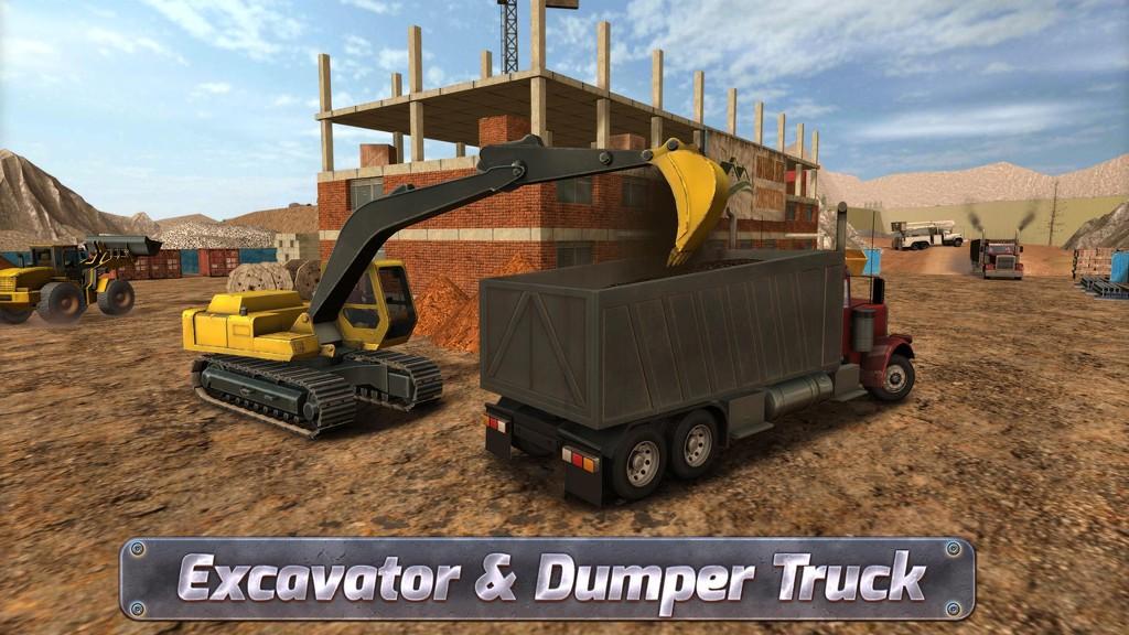 Excavator Simulator - Bulldozer Simulator - Forklift Simulator
