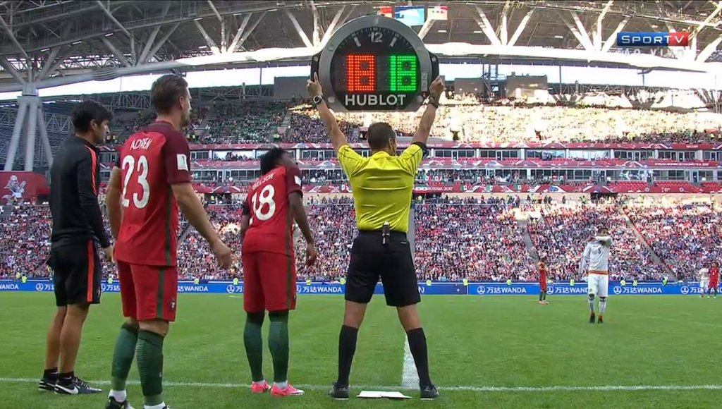 FIFA Confederations Cup Russia 2017 - Portugal vs. Mexico - Substitution Out 18 In 18