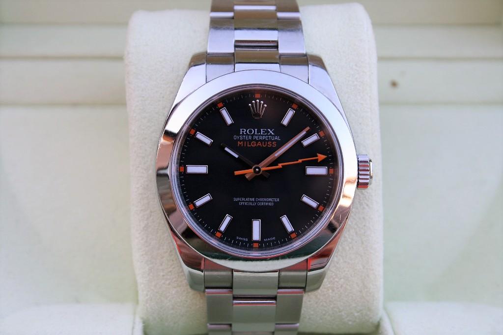 TimeZone  Sales Corner » FS Rolex Milgauss 116400 Black