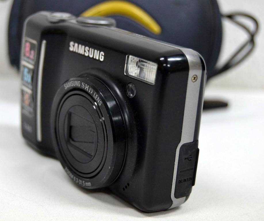 Macchina fotografica compatta samsung s85 shd lens 8mp 5x for Macchina fotografica compatta