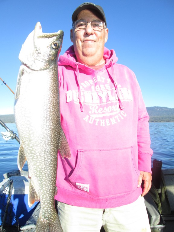 november 3 2016 tahoe mackinaw fishing report pictures