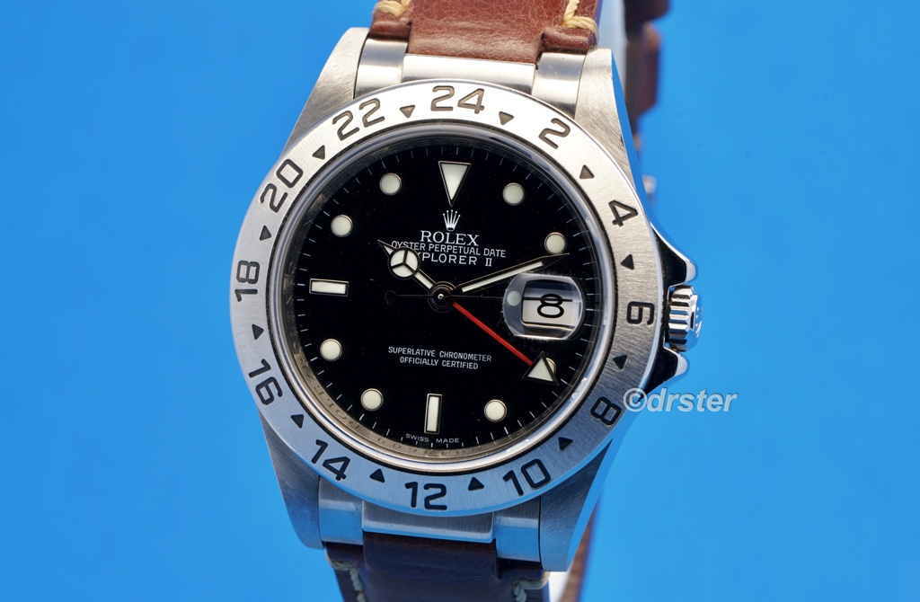 Rolex Explorer Ii 16570 Leather Strap