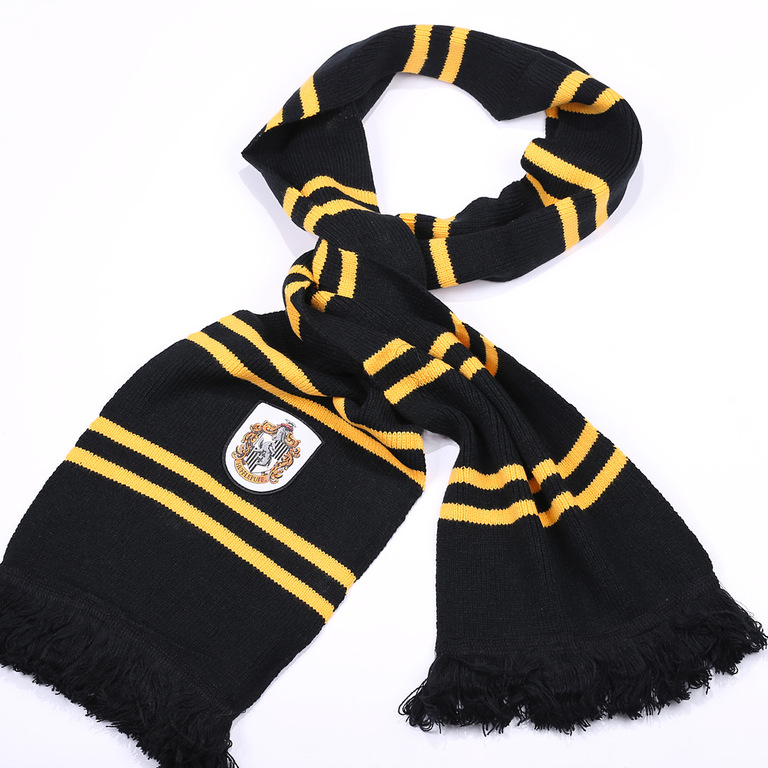 harry potter official scarf gryffindor hufflepuff