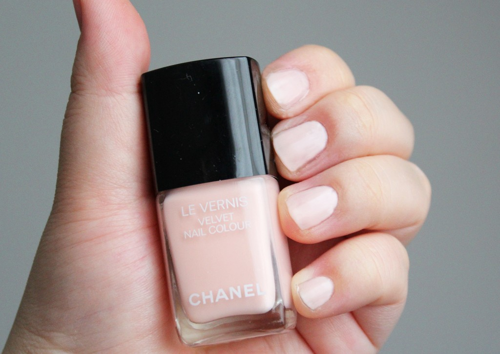"Chanel Le Vernis ""Pink Rubber"""