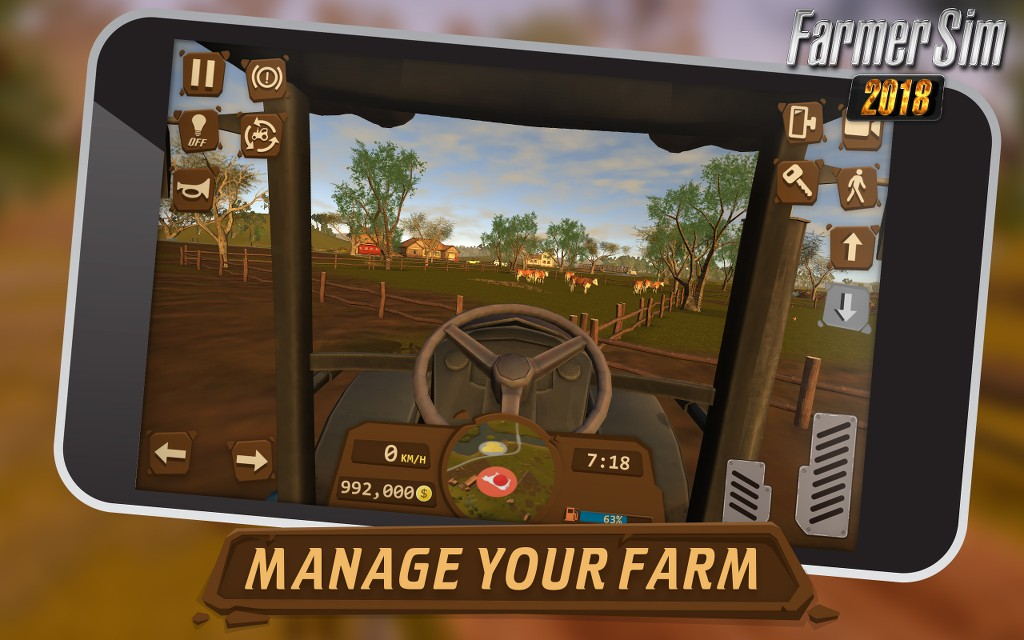 Farmer Sim iOS Android