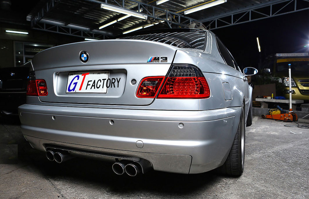 new for bmw e46 m3 only full carbon rear diffuser spoiler. Black Bedroom Furniture Sets. Home Design Ideas