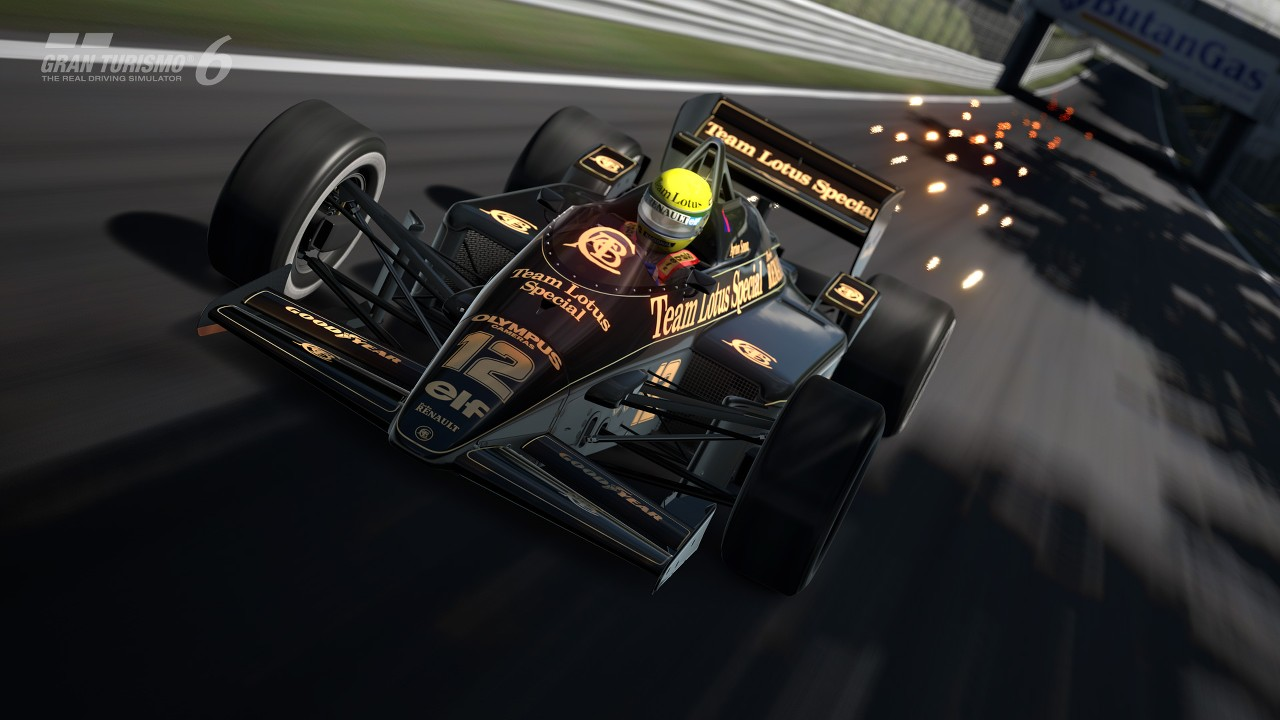 Gran Turismo 6 - 1985 Lotus 97T - Ayrton Senna - Autodromo Nazionale di Monza