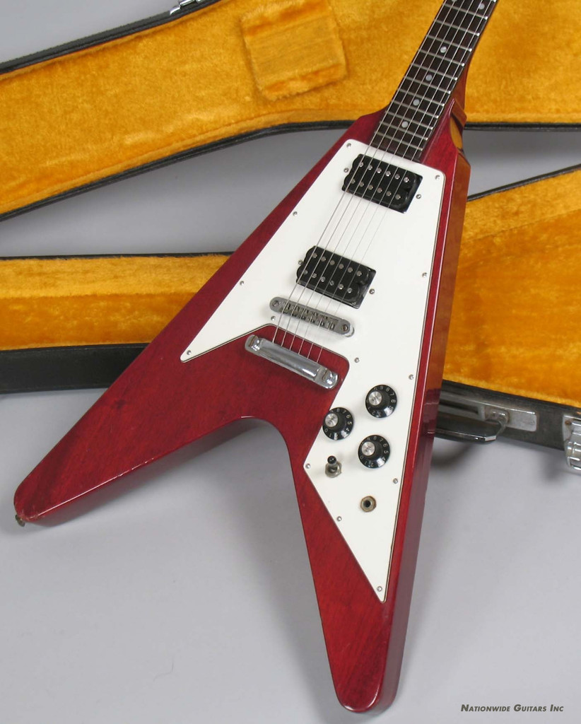 1975 Ibanez 2387 Dx Flying V Set Neck Lawsuit Guitar Ebay