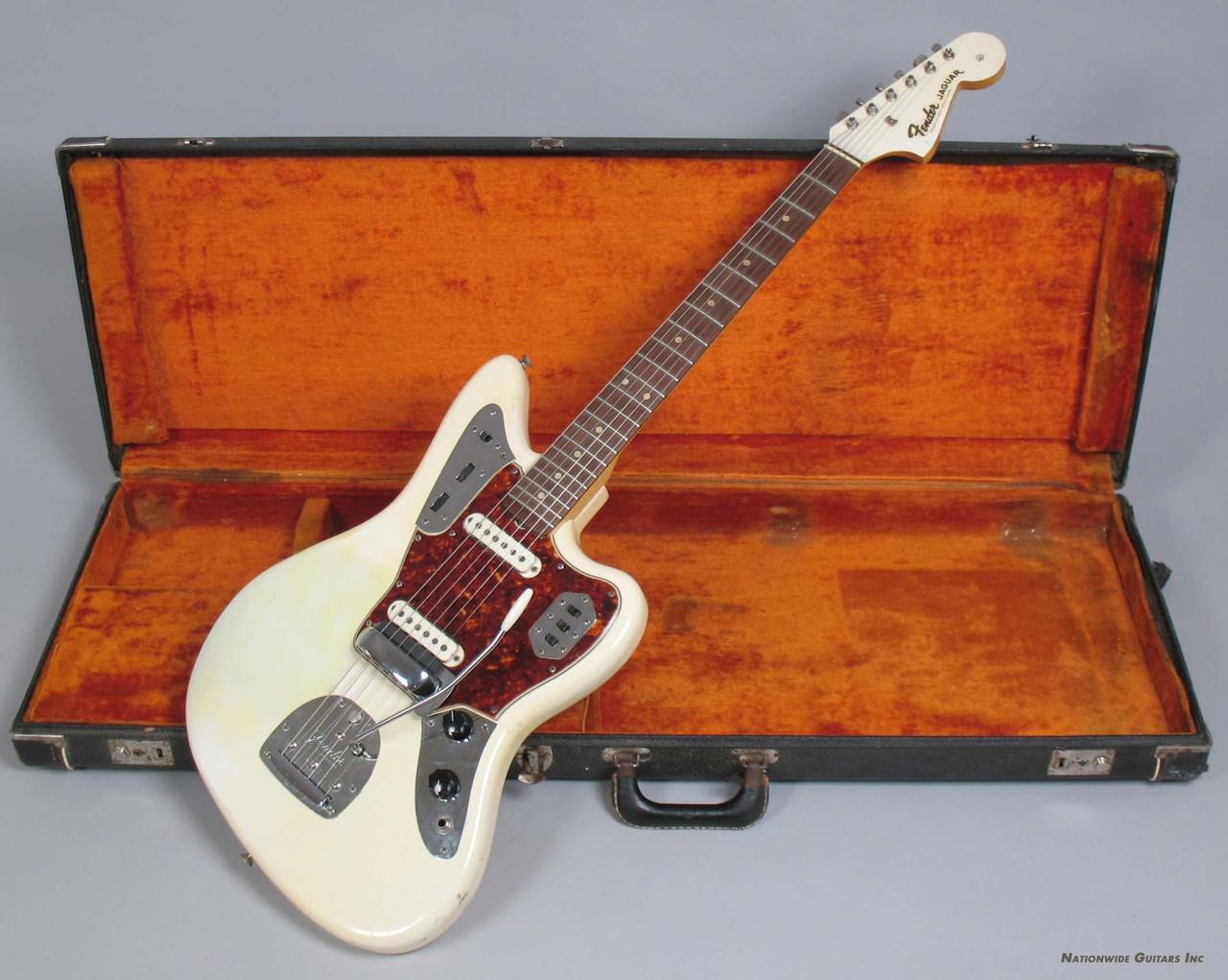 1964 Fender Jaguar Olympic White