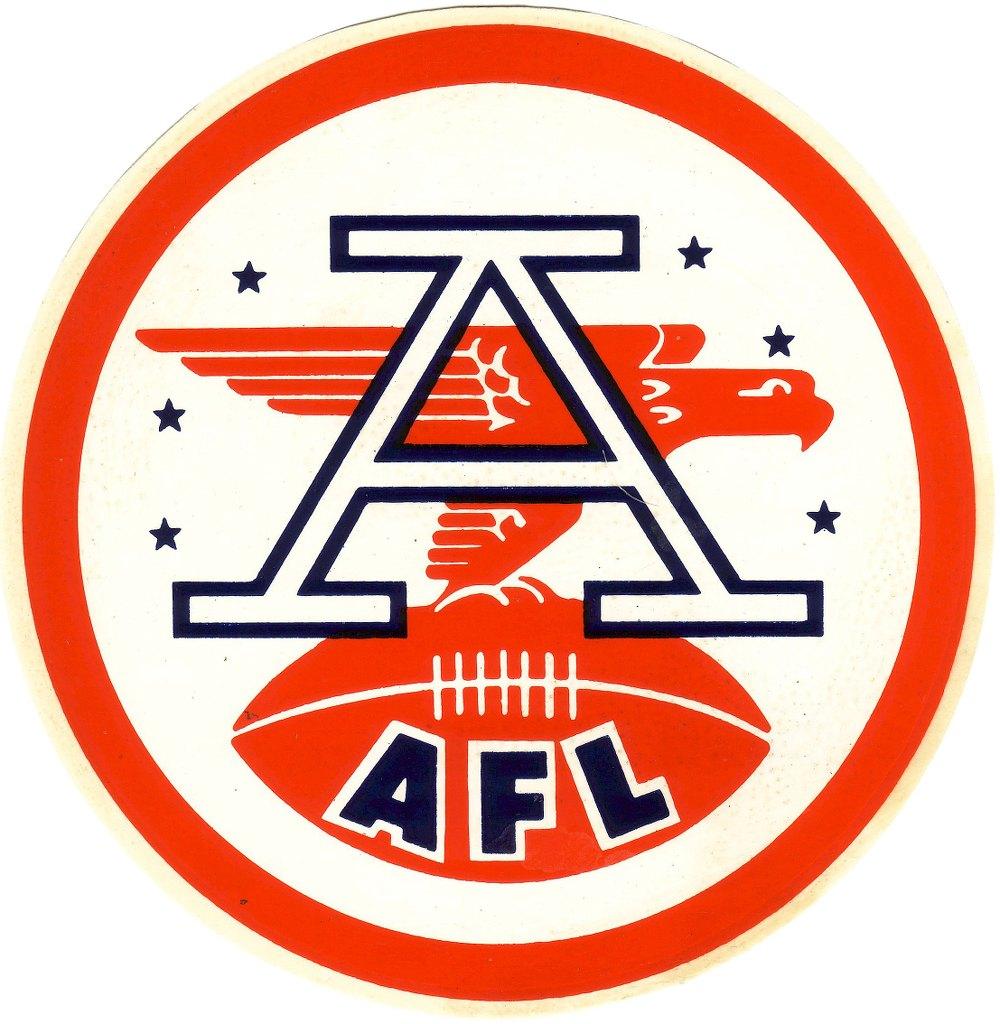 American Football League (AFL) Logo