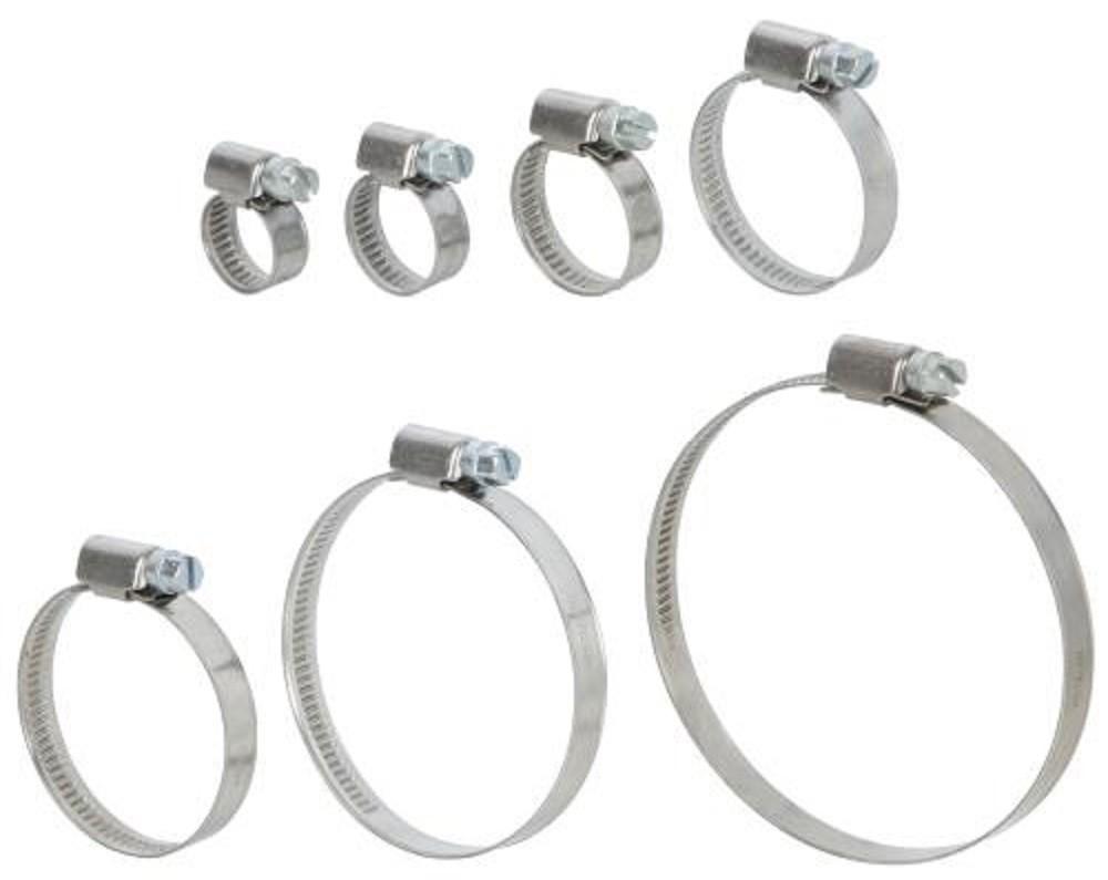 80 x collier de serrage 9mm acier type serflex assortiment prcolmix80 ebay. Black Bedroom Furniture Sets. Home Design Ideas