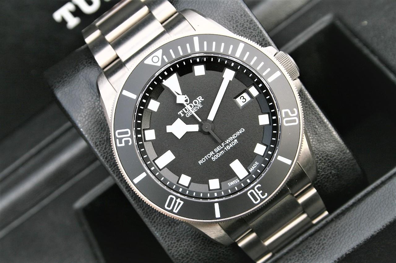 Us price tudor pelagos titanium model 25600tn black dial - Tudor dive watch price ...