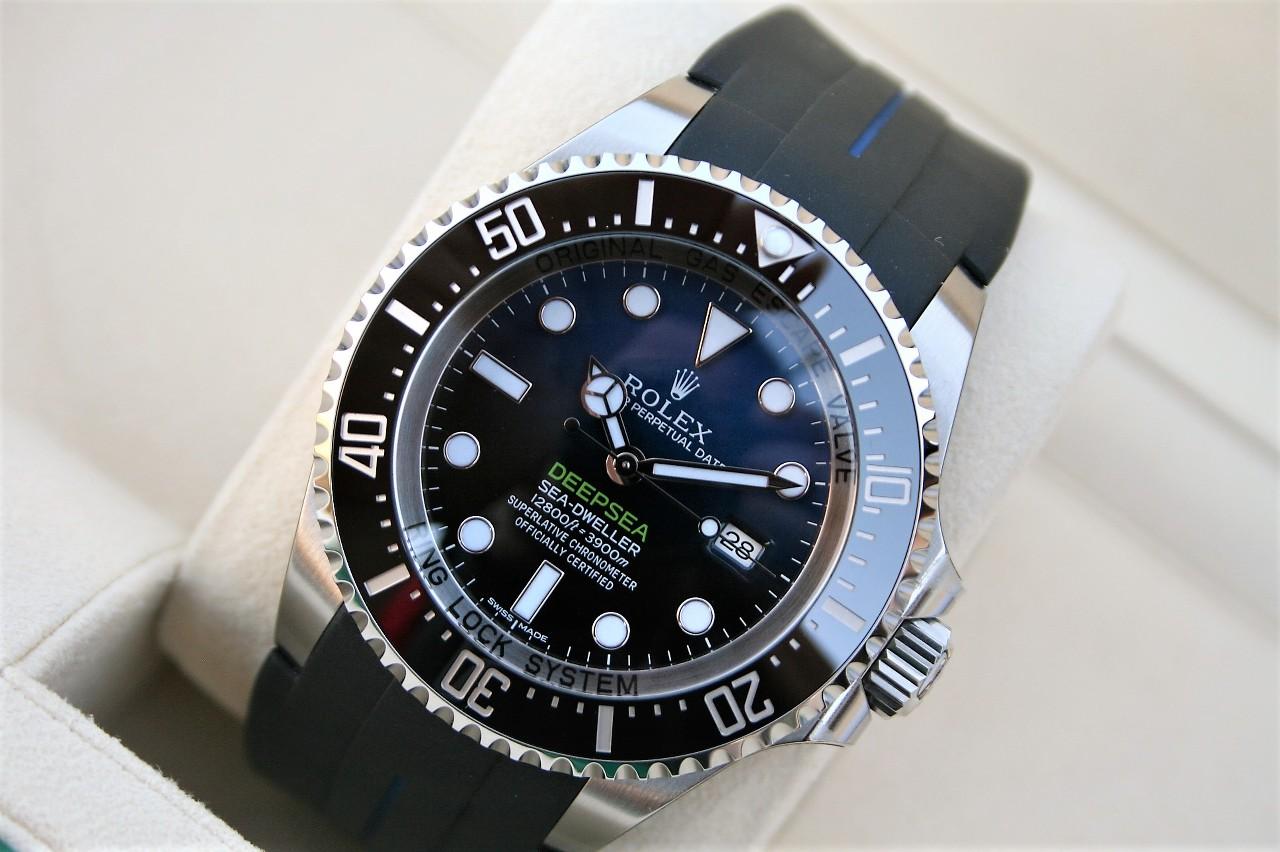 Fs Rolex 116660 D Blue Deepsea James Cameron Blue Dial