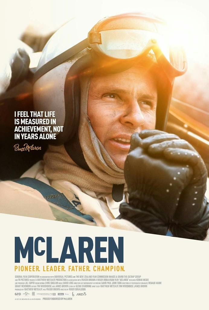 Bruce McLaren Film Poster