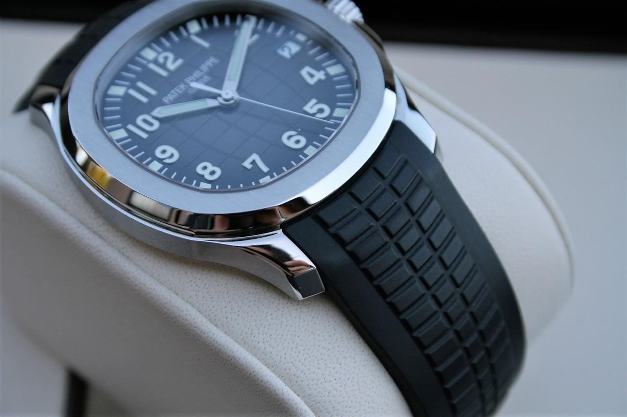 fs patek philippe aquanaut 5167 rubber bracelet model