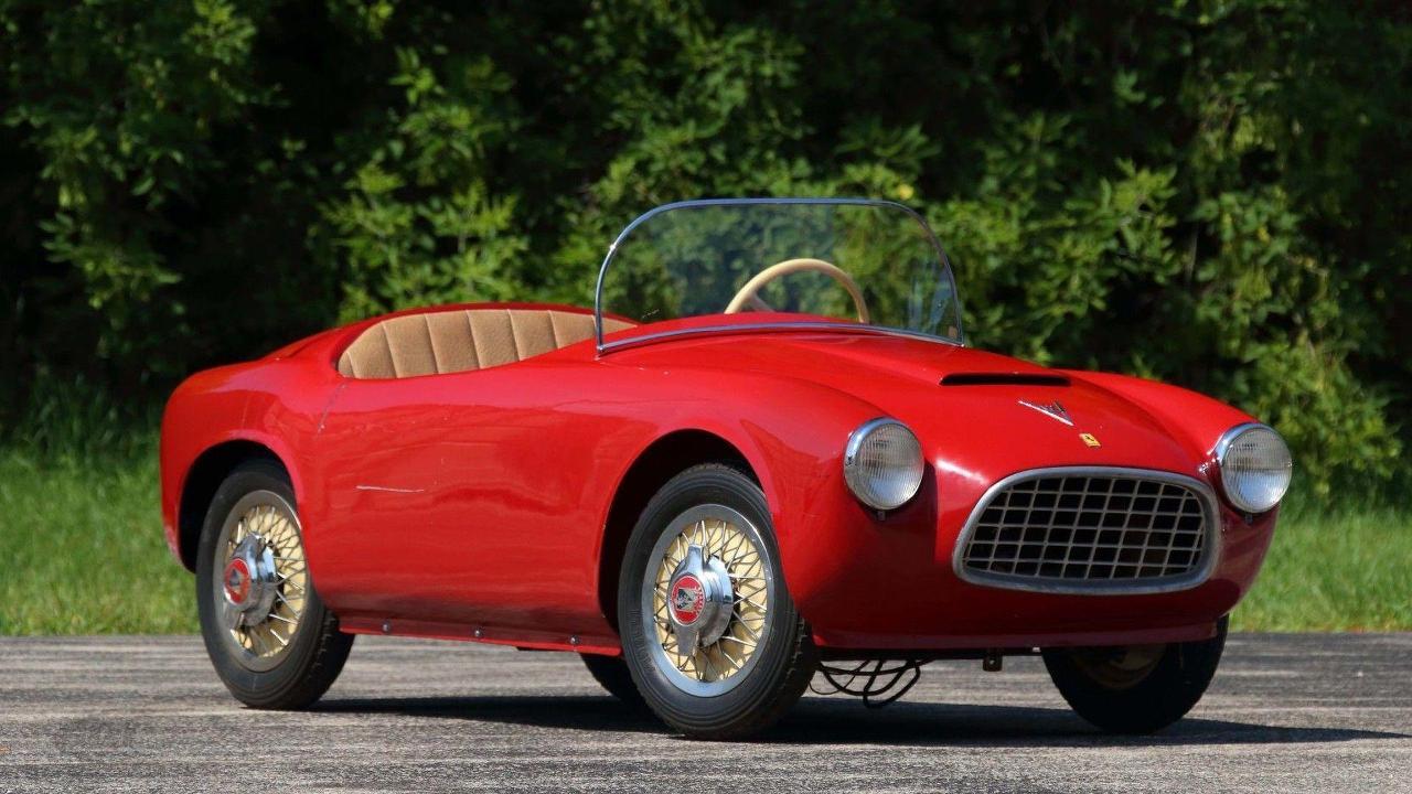 """1956 """"Baby Ferrari"""" Bimbo Racer"""