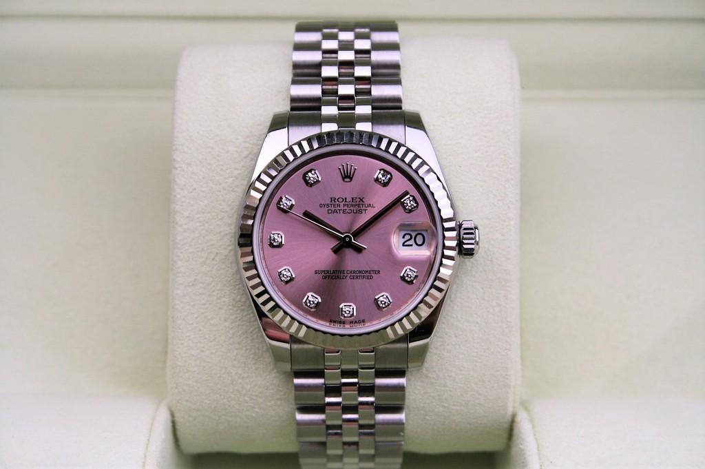 TimeZone  TZ Showcase » FS Rolex Datejust 31MM Pink