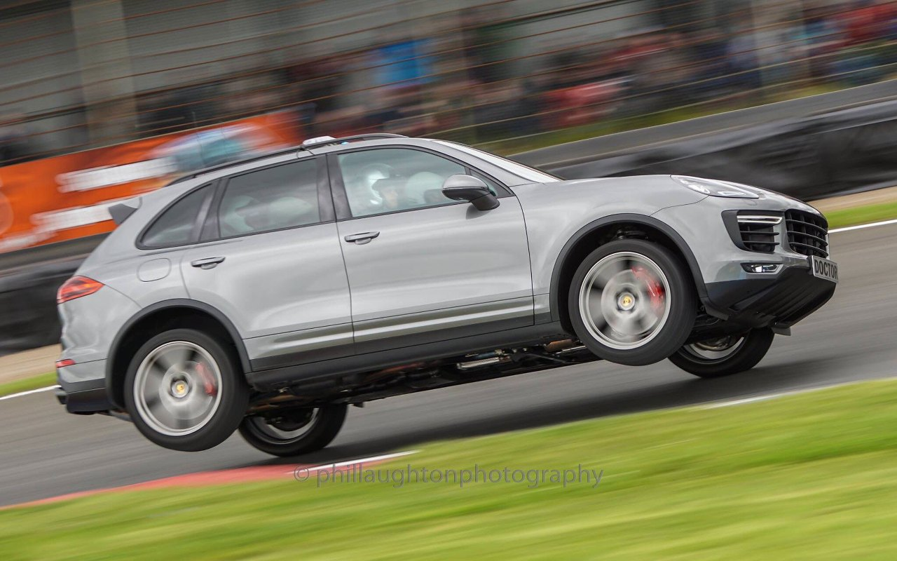 Porsche Cayenne Medical Car from Porsche Carrera Cup Great Britain