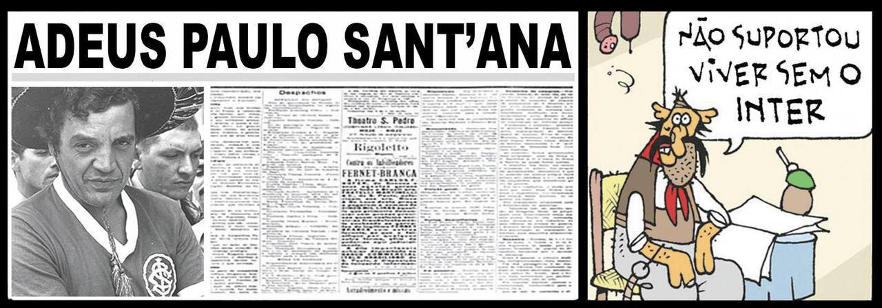 Tapejara lê no jornal a notícia sobre a morte de Paulo Sant