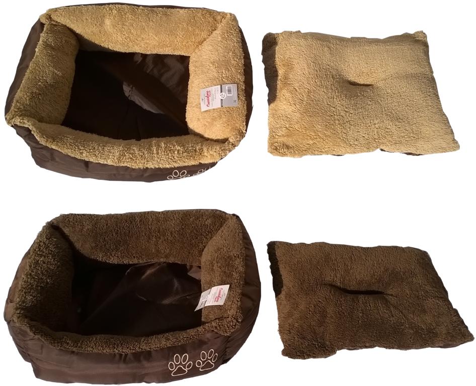 Cuccia per cani gatti piccola media grande morbida interno for Cuscini per cani taglia grande