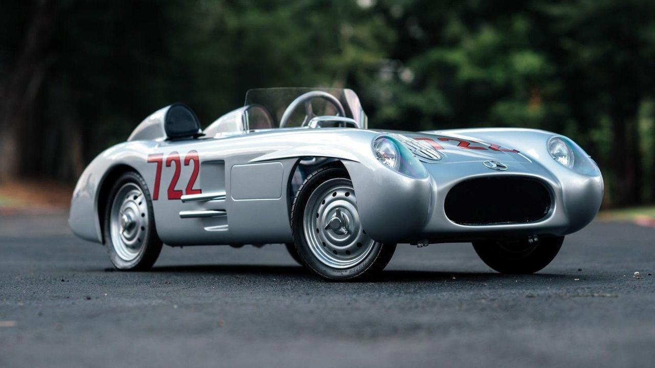 1955 Mercedes-Benz 300 SLR Go Kart Replica
