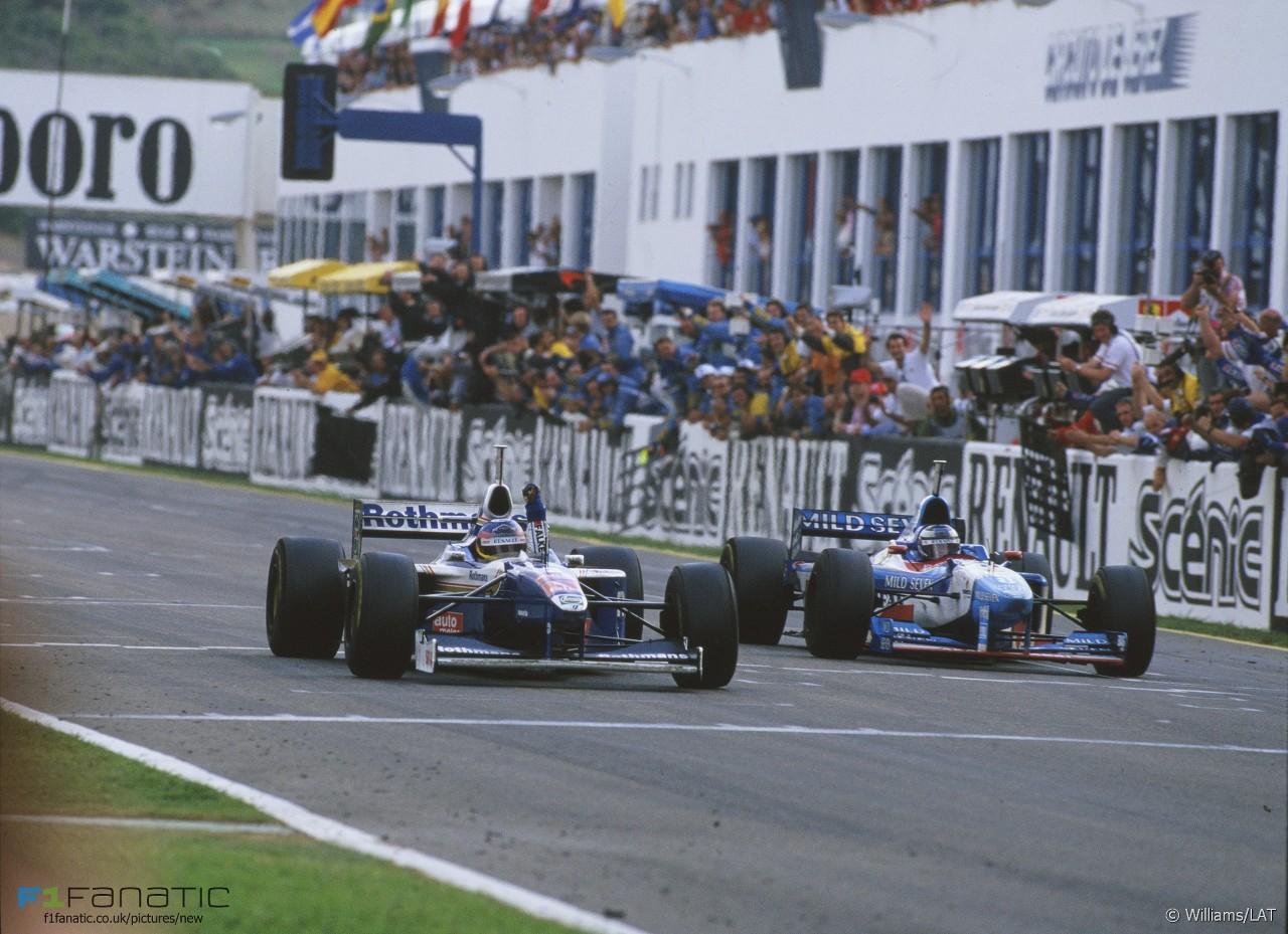 F1 1997 European GP Jerez Jacques Villeneuve Becomes World Champion
