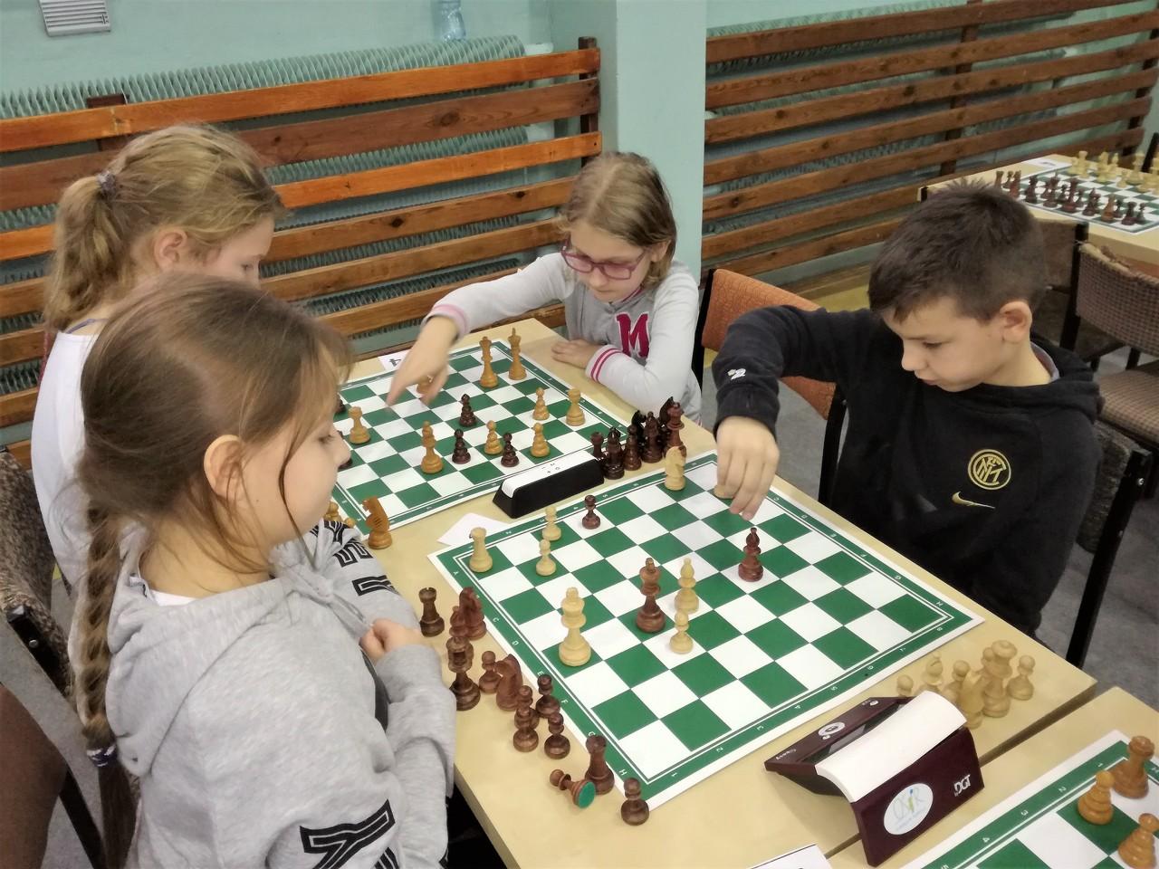 Pniewscy szachiści naXXI Wielkopolskich Igrzyskach Dzieci