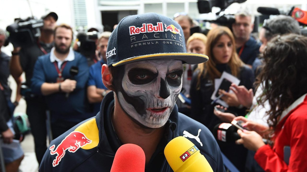F1 2016 Mexico GP Max Verstappen Day Of The Death