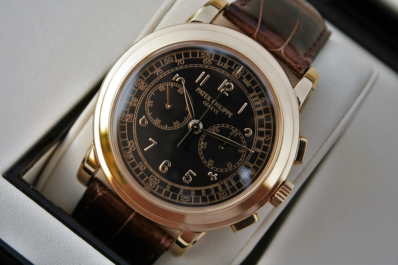 Patek Philippe 5070J Chronograph 18k Gold 42MM Discontinued