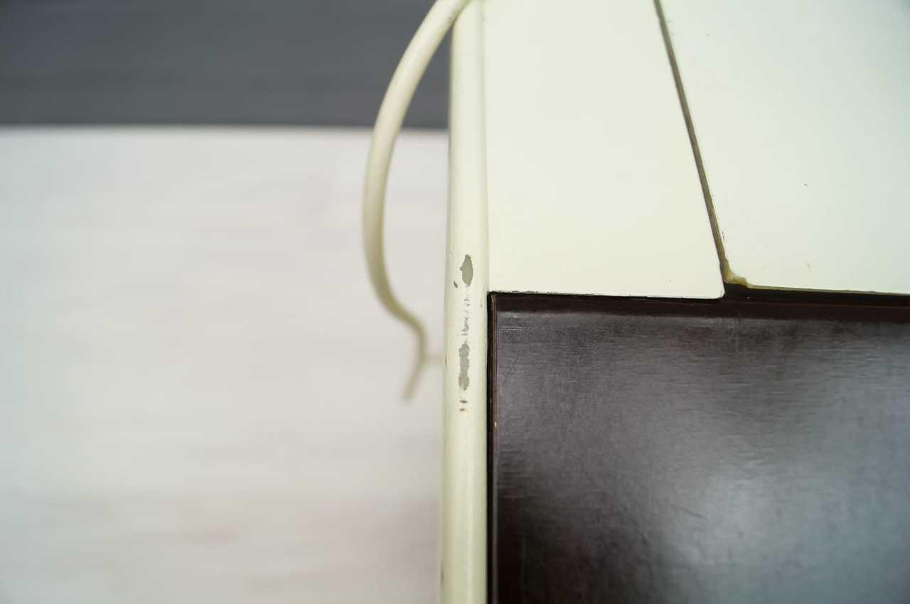 luigi colani mitwachsender schreibtisch mit original lampe fl totto 60er 70er ebay. Black Bedroom Furniture Sets. Home Design Ideas